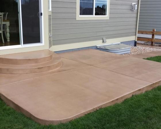 Concrete Patio Slab Floors