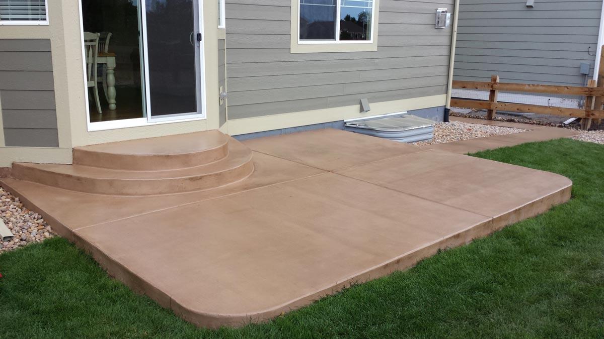 Concrete Patio Slab Floors   Gumer Concrete on Concrete Slab Backyard Ideas id=64125