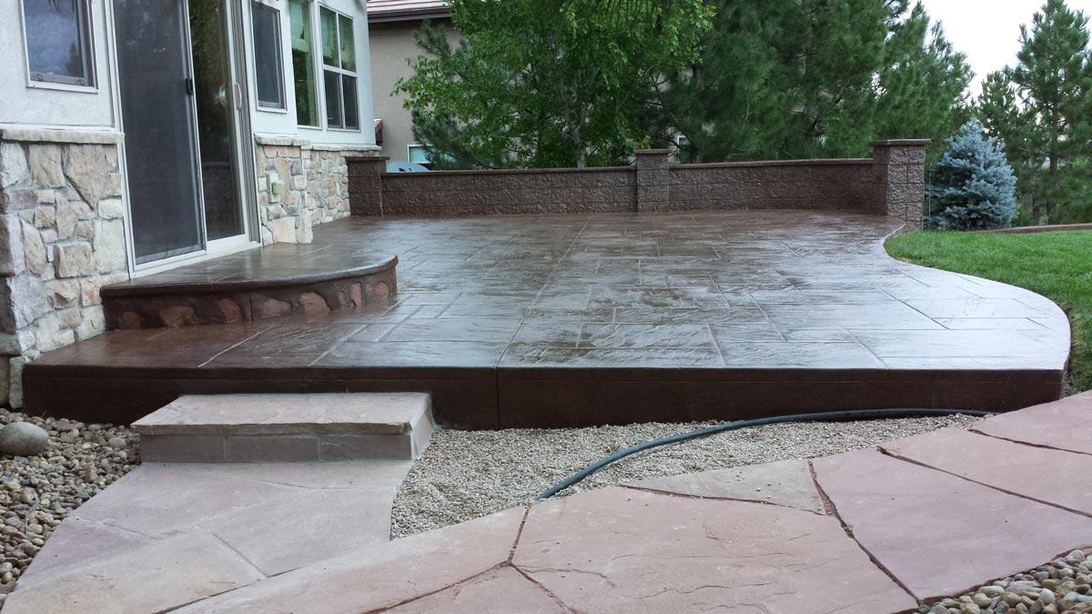 Concrete Patio Slab Floors 2