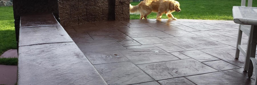 Patio Concrete Slab Floors