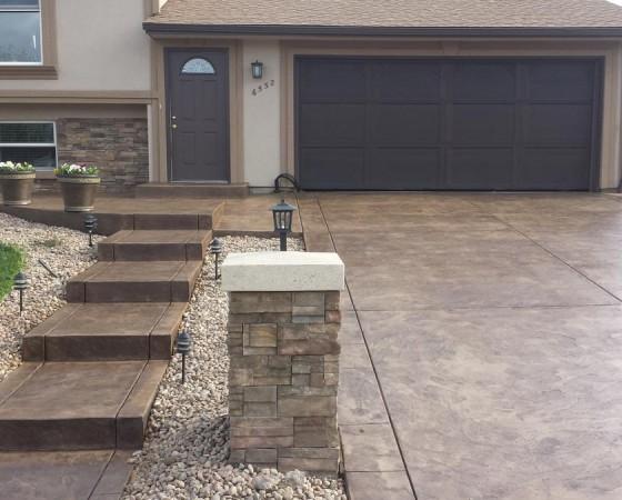 Driveway Concrete Slab Floors