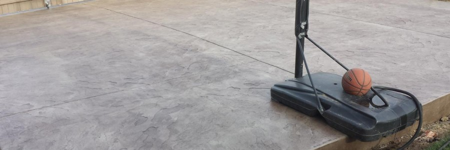 Parking Concrete Slab Floor