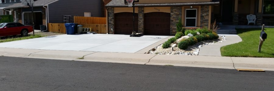 Driveway And Side Walk Expose Aggregate