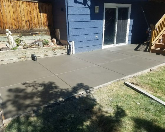 Patio Broom Finish 2