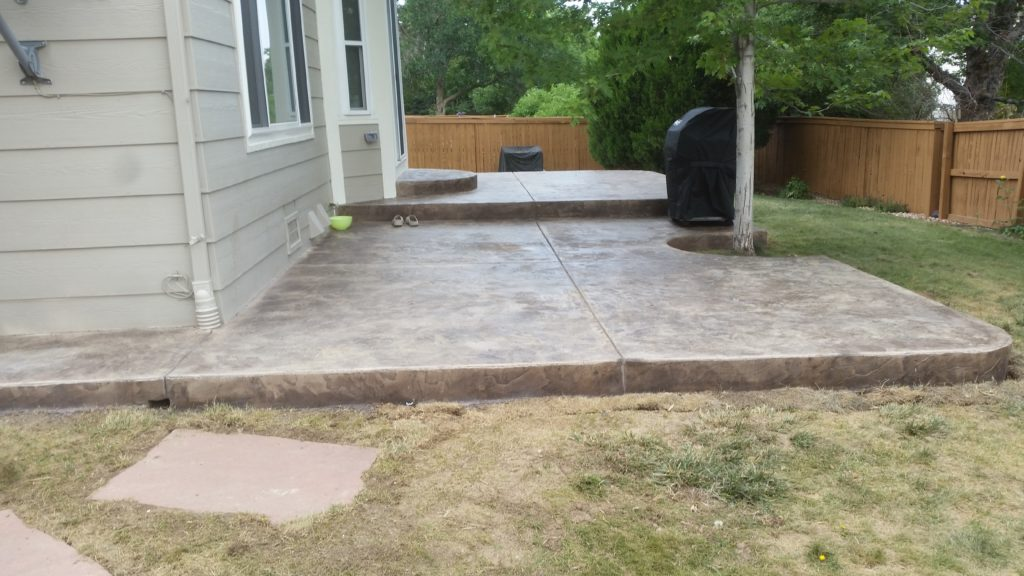 Patio Stamp Concrete2