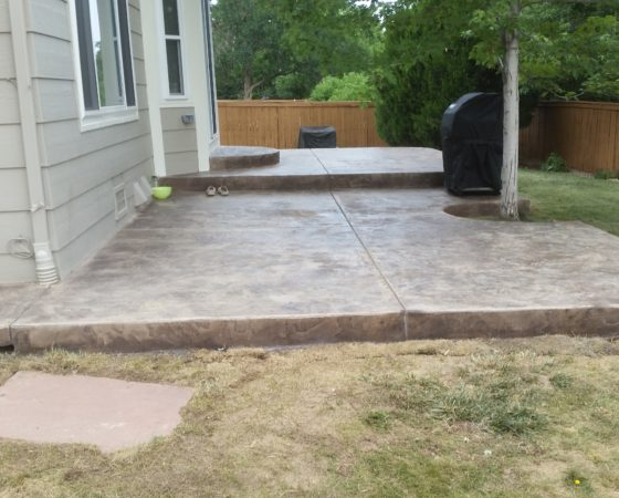 Patio Stamp Concrete