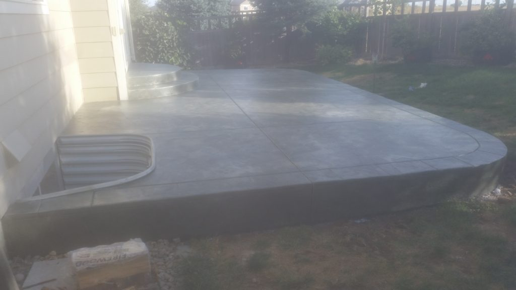 Patio Stamp Concrete3