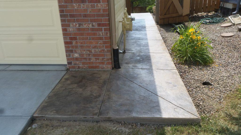 Side Walk Stamp Concrete1