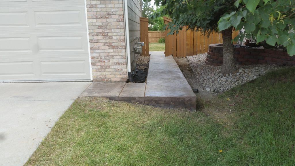 Side Walk Stamp Concrete2