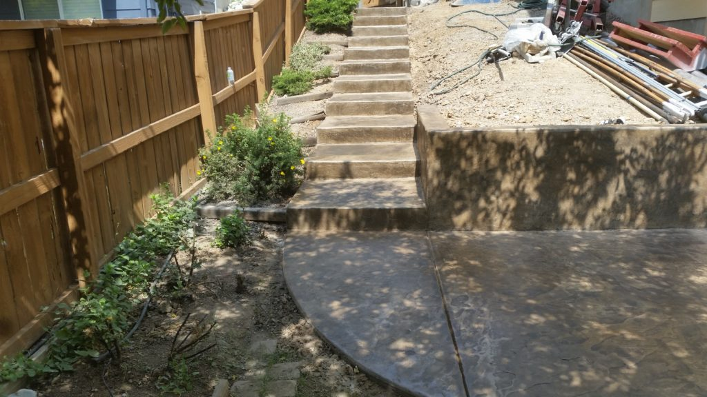 Steps Stamp Concrete