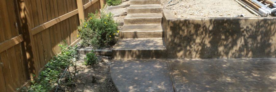 Steps Stamp Concrete